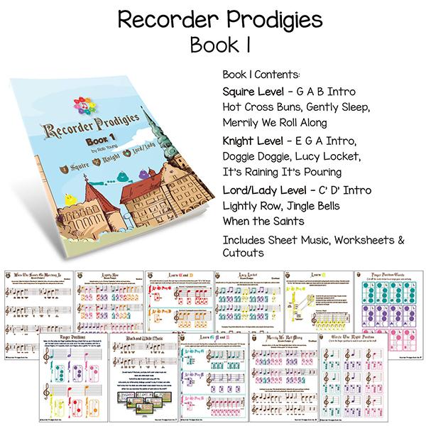 Recorder Prodigies Book - 1