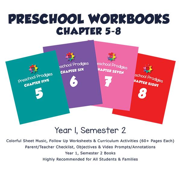 PRESCHOOL 2. YIL ChapterBooks ( 5-8 )