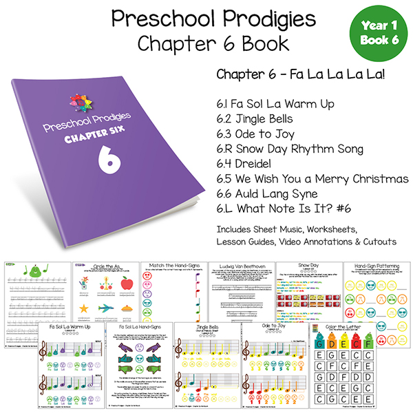 Preschool Prodigies: Chapter 6 Book