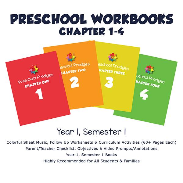 Preschool 1. Yıl ChapterBooks (1-4)