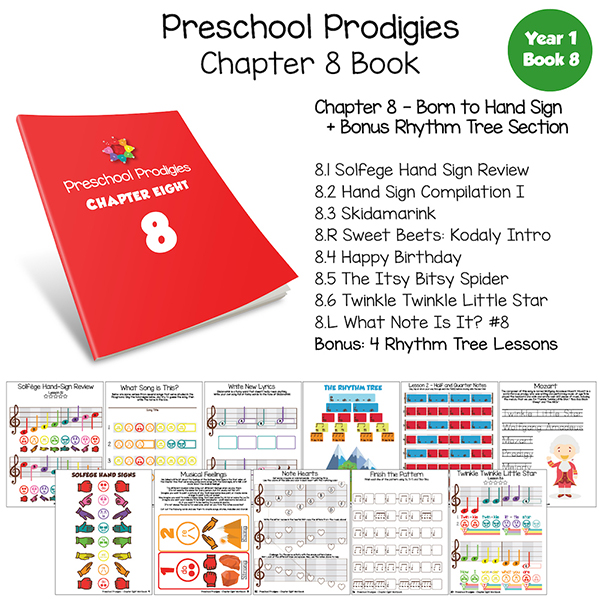 Preschool Prodigies: Chapter 8 Book