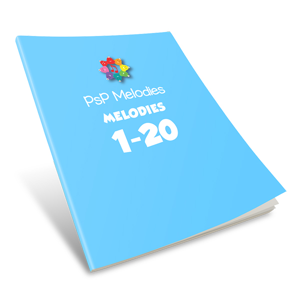 PSP Melodies Workbook: Melodies #1-20