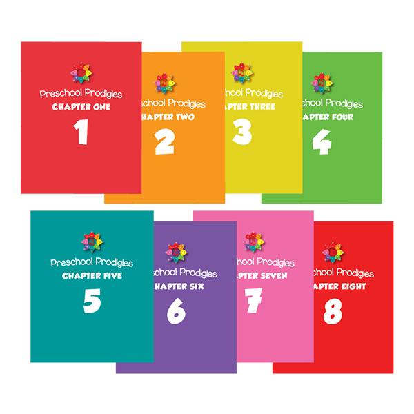 Preschool Prodigies Workbooks (1. Yıl: Chapters 1-8)