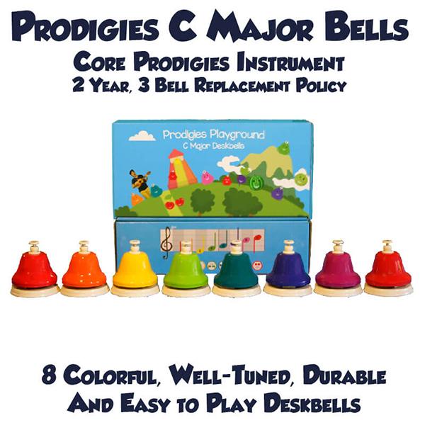Prodigies C Major Deskbells (Temel Enstruman)