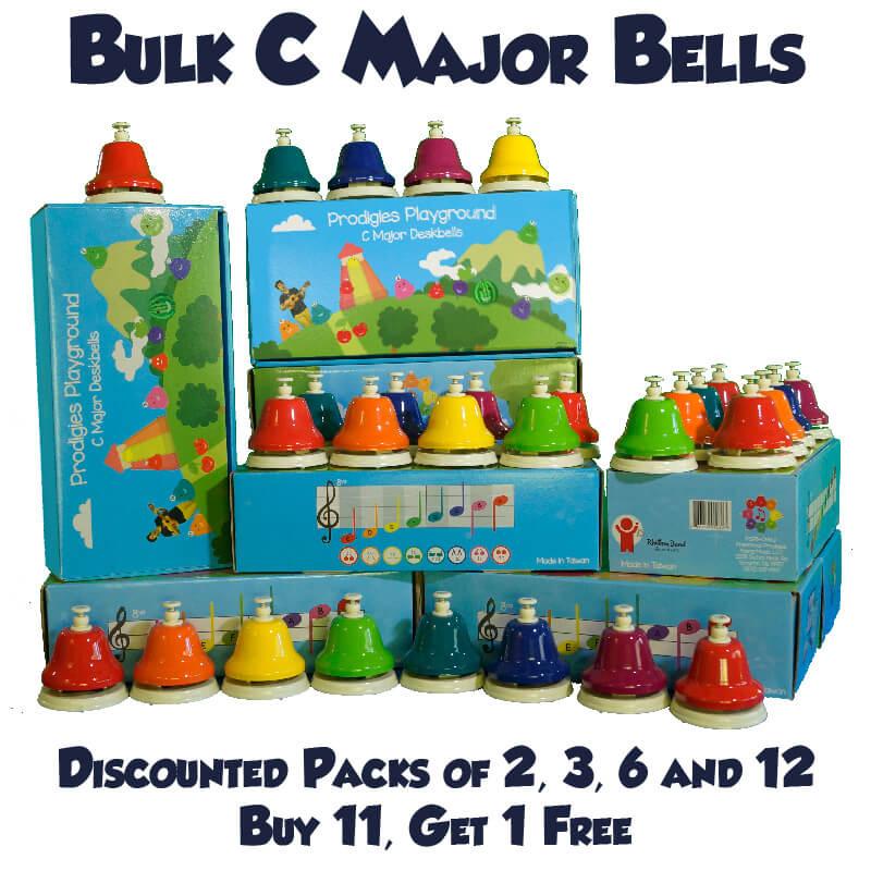 C Major Deskbells - Paket Seçenekleri (2, 3, 6 & 12'li Paketler)