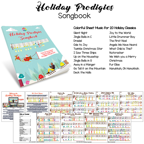 Holiday Prodigies Songbook